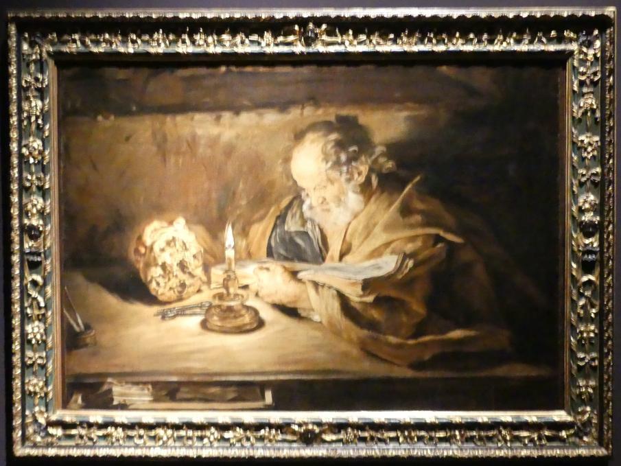 Giovanni Serodine: Der heilige Petrus bei der Lektüre, Um 1628 - 1630