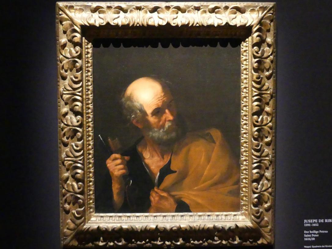 Jusepe de Ribera: Der heilige Petrus, 1616 - 1620