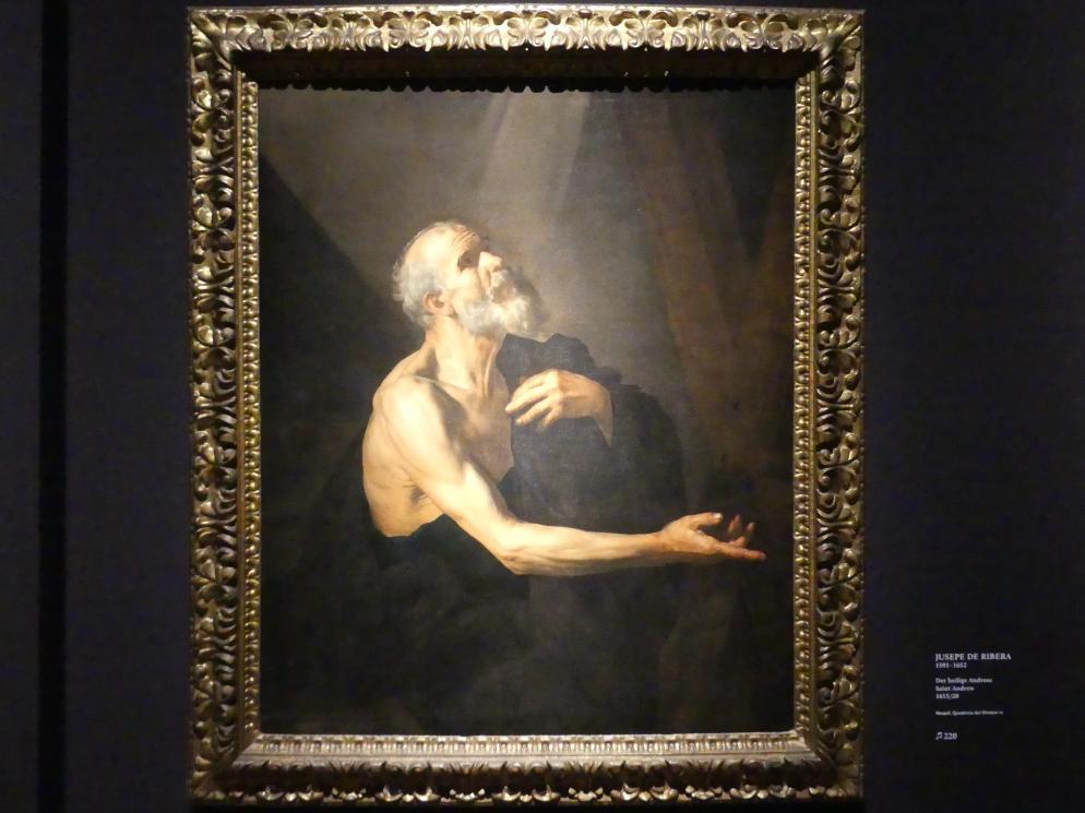 Jusepe de Ribera: Der heilige Andreas, 1615 - 1620