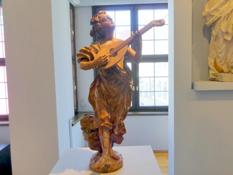 Lorenz Luidl: Laute schlagender Engel, um 1690