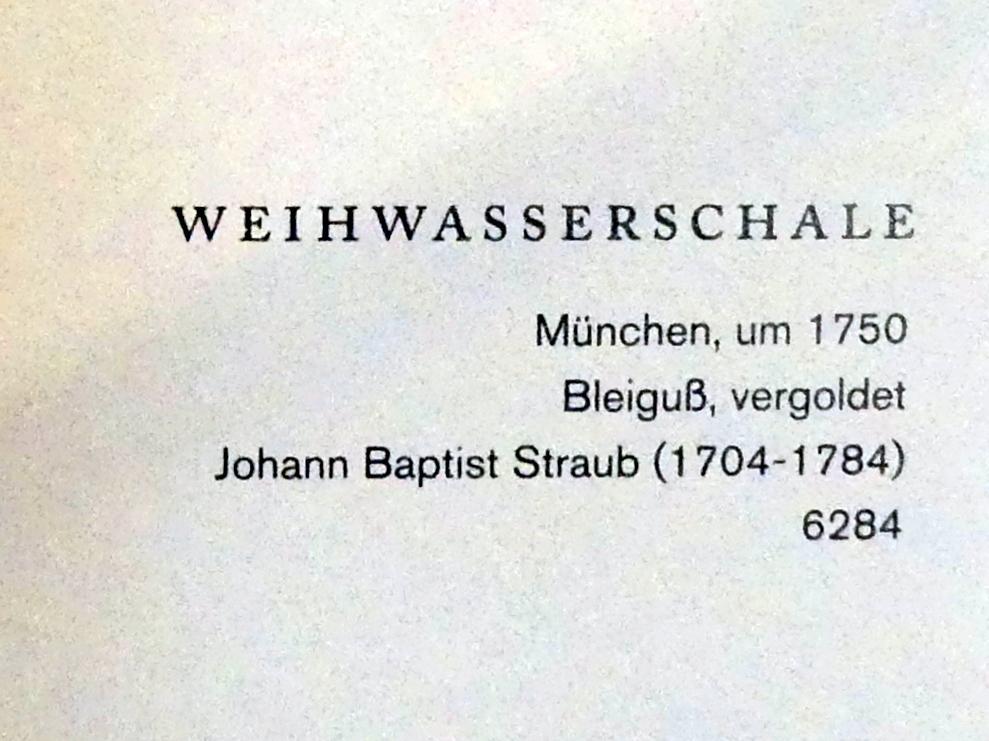 Johann Baptist Straub: Weihwasserschale, um 1750, Bild 4/4