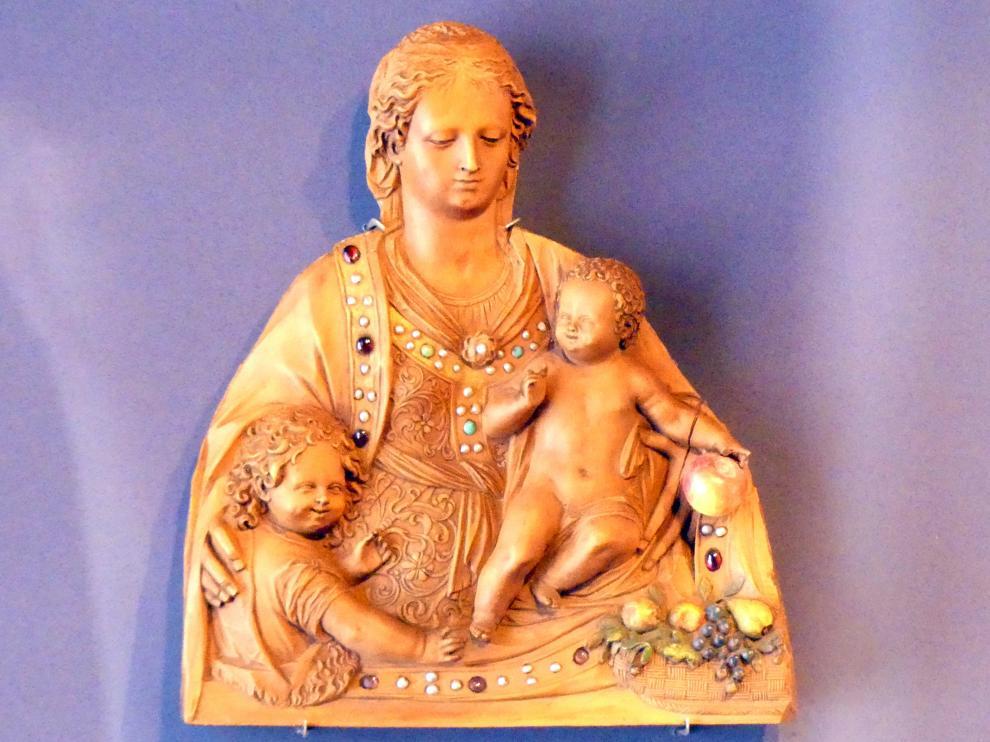 Muttergottes mit dem Christkind und dem Johannesknaben, um 1600