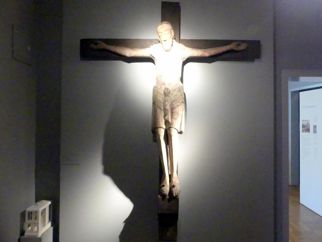 Kruzifixus aus dem Dombezirk, um 1180