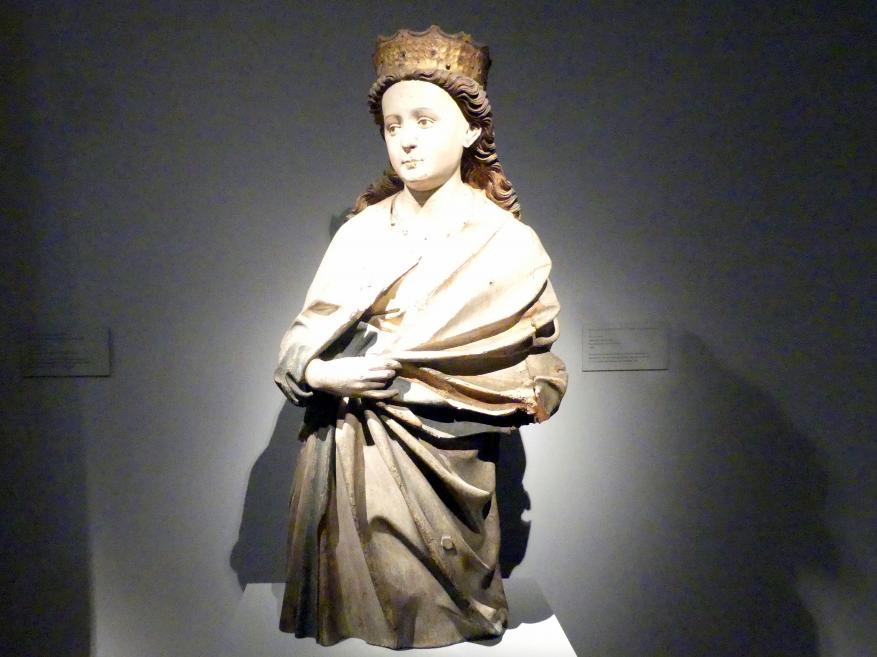 Hans Multscher: Hl. Katharina von Alexandrien, um 1440