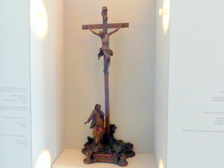 Joseph Deutschmann: Maria beweint den gekreuzigten Christus, um 1770, Bild 1/2