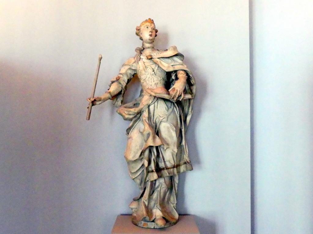 Johann Michael Fischer (Bildhauer): Heilige Agatha, um 1770