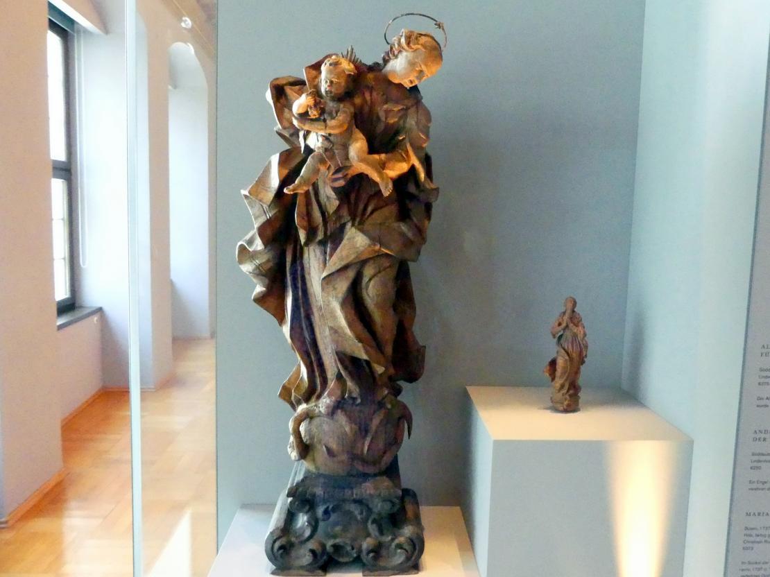 Maria mit Kind, um 1740