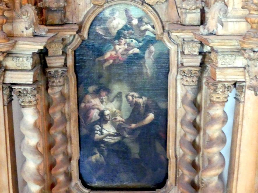 Joseph Mages: Altarmodell und Modello für ein Altarblatt, 1765