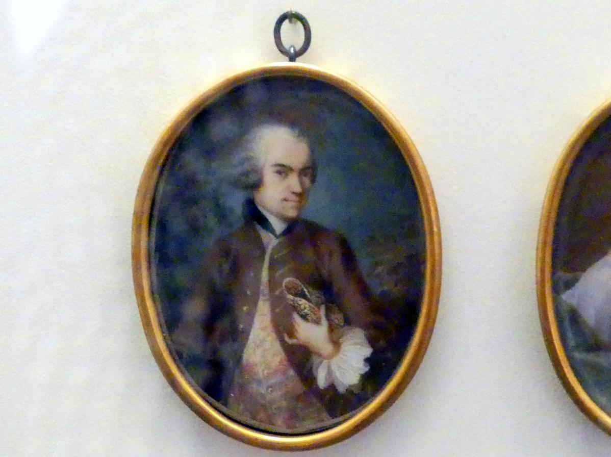 Johannes Esaias Nilson: Miniaturbildnis Paul von Stettens des Jüngeren, um 1755