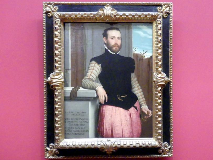 Giovanni Battista Moroni: Prospero Alessandri, Um 1560