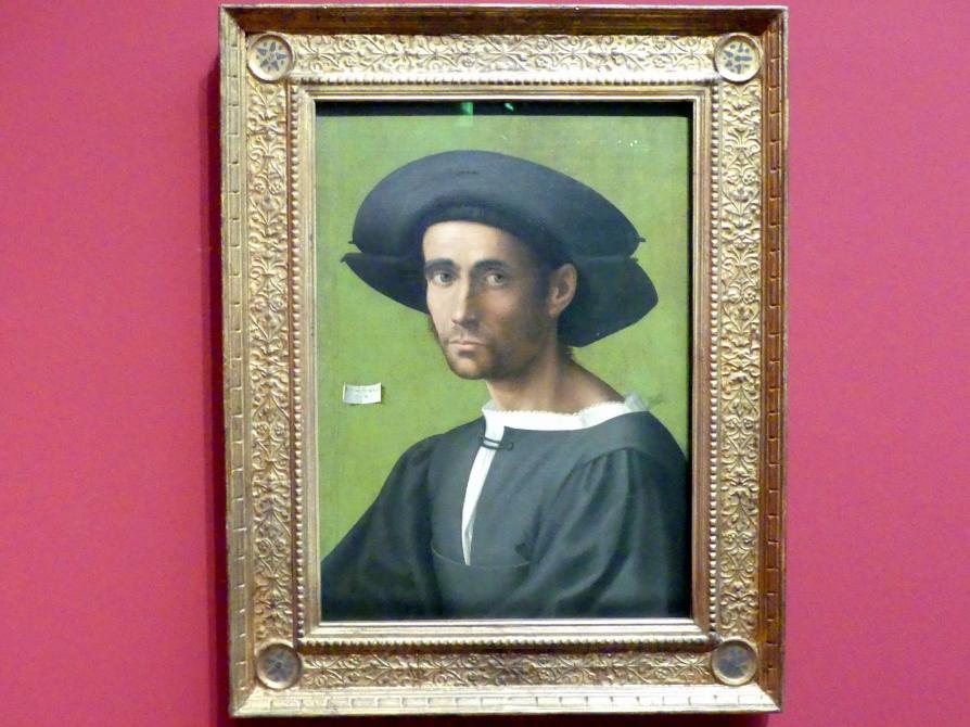 Portrait eines Mannes, 1517