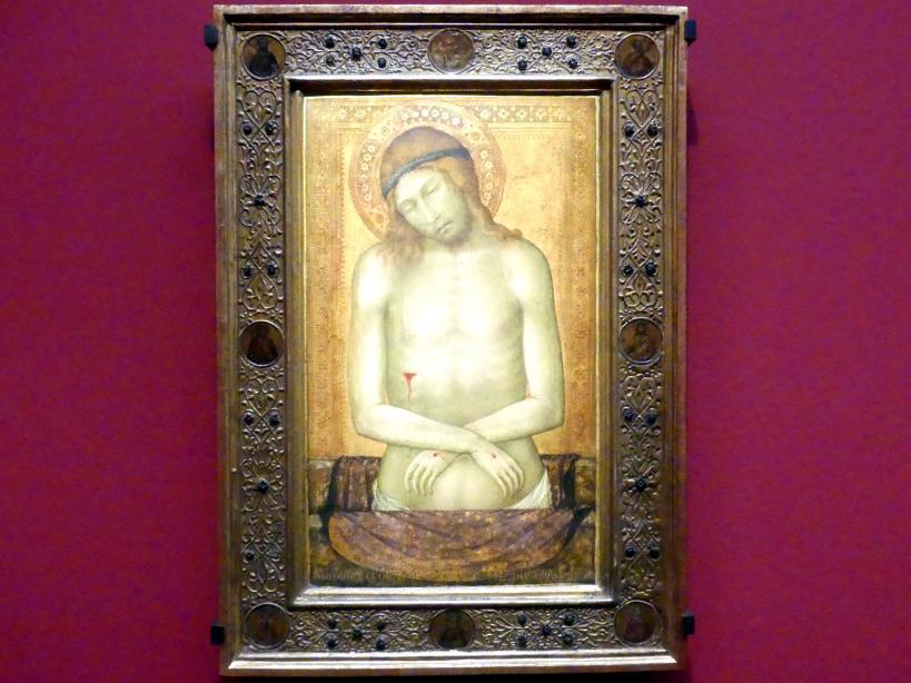 Naddo Ceccarelli: Christus als Schmerzensmann, Um 1347