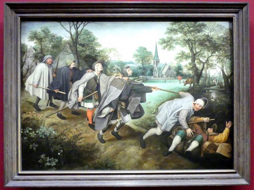 Lucas van Valckenborch: Der Blindensturz, Nach 1568