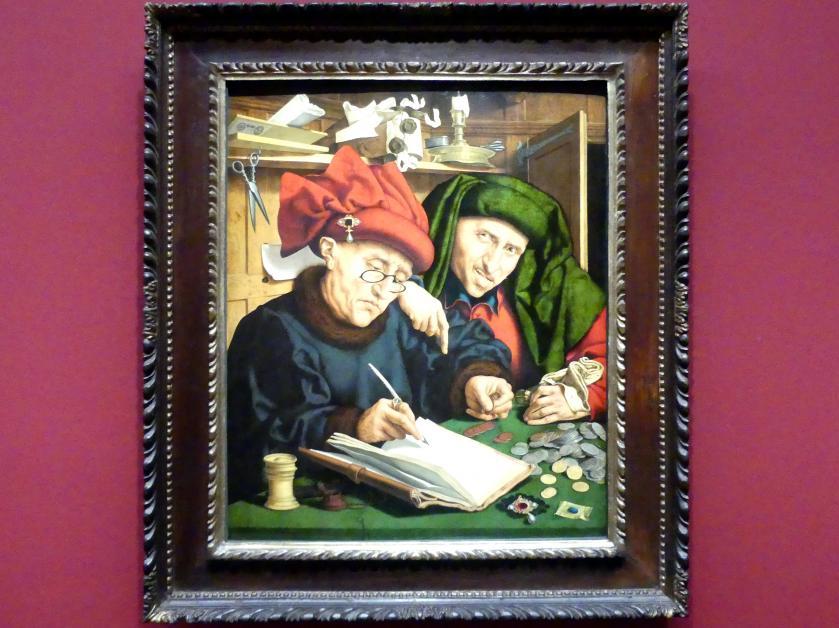 Quinten Massys: Die Steuereintreiber, Um 1525 - 1530