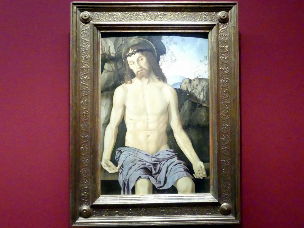 Marco Palmezzano: Christus als Schmerzensmann, Um 1500