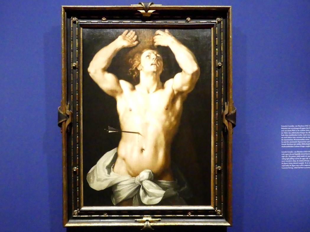 Cornelis van Haarlem: Der heilige Sebastian, um 1591