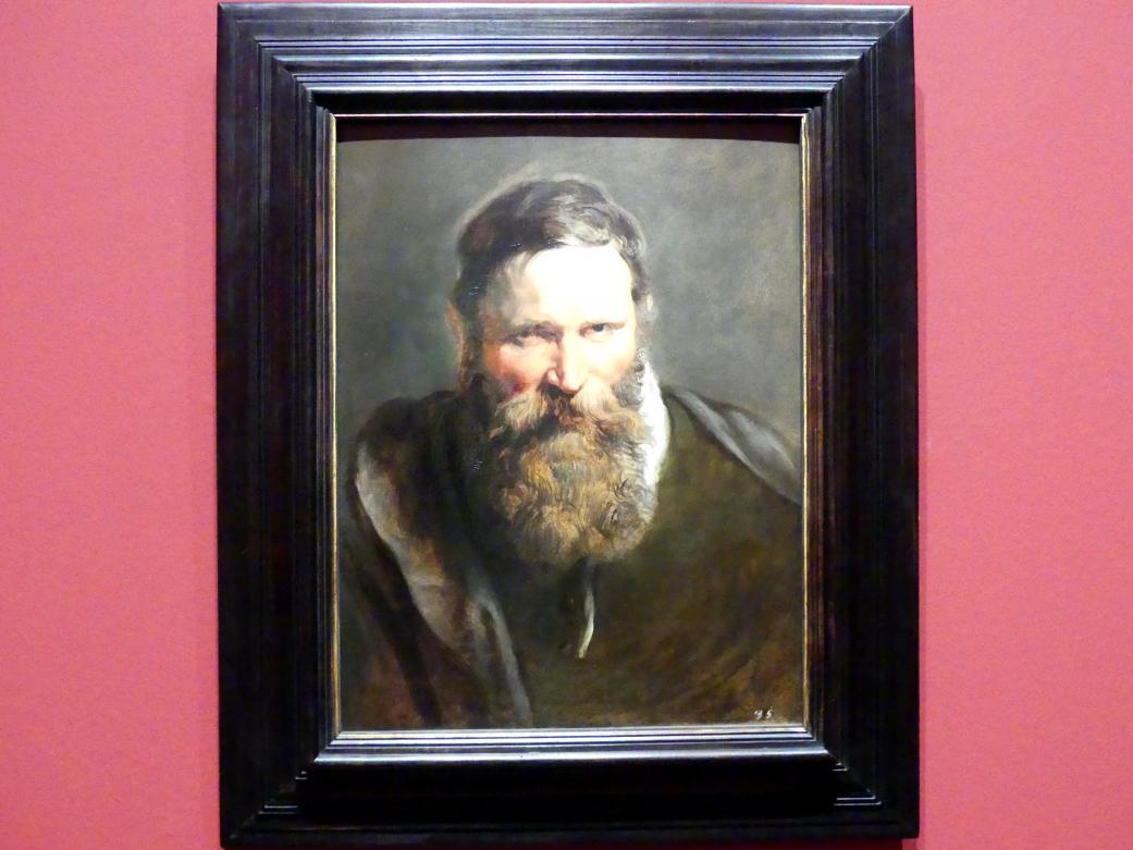 Peter Paul Rubens: Kopfstudie eines Mannes, Um 1612