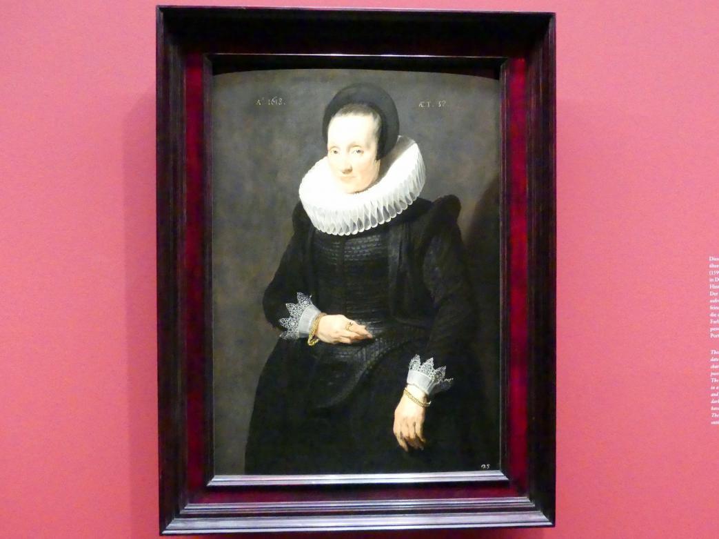 Anthonis (Anton) van Dyck: Portrait einer Frau, 1618
