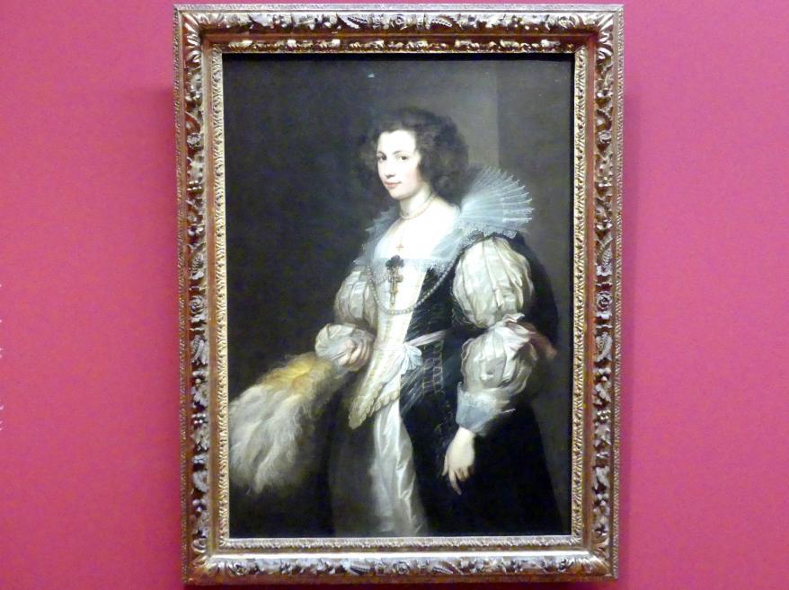 Anthonis (Anton) van Dyck: Maria de Tassis, um 1629 - 1630