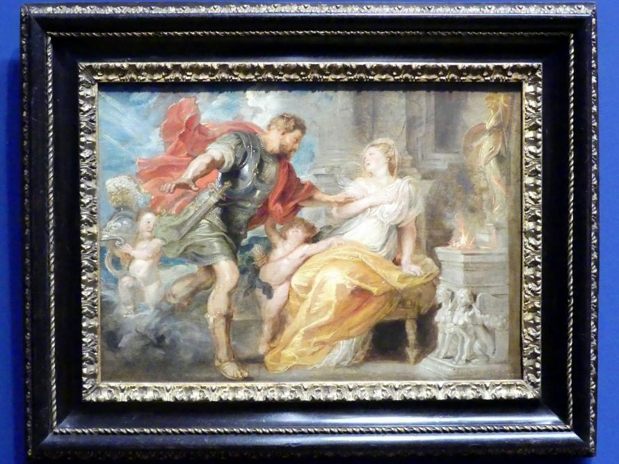 Peter Paul Rubens: Mars und Rhea Silvia (Modello), Um 1616 - 1617