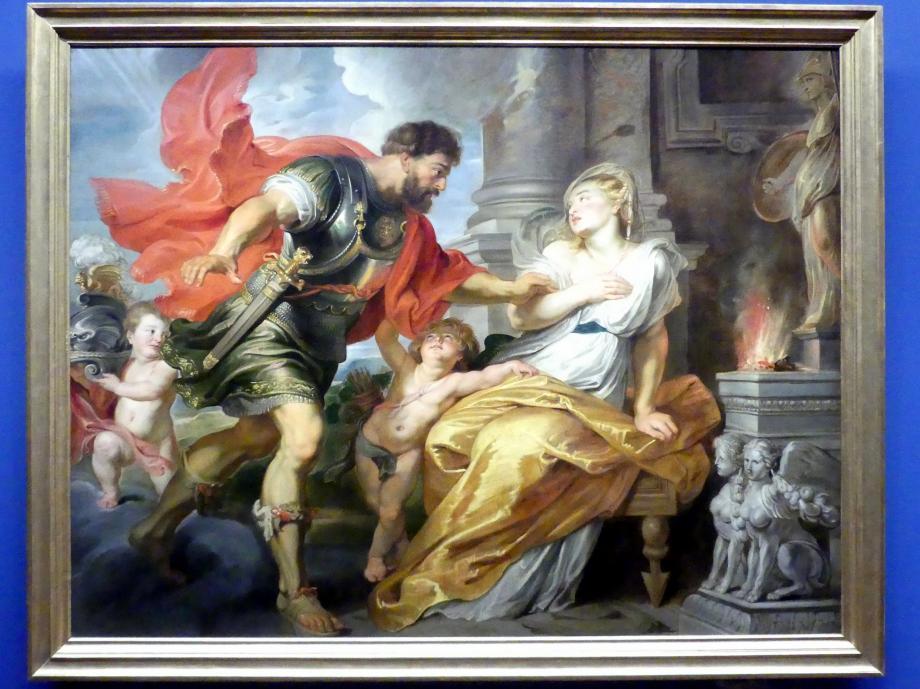 Peter Paul Rubens: Mars und Rhea Silvia, um 1616 - 1617