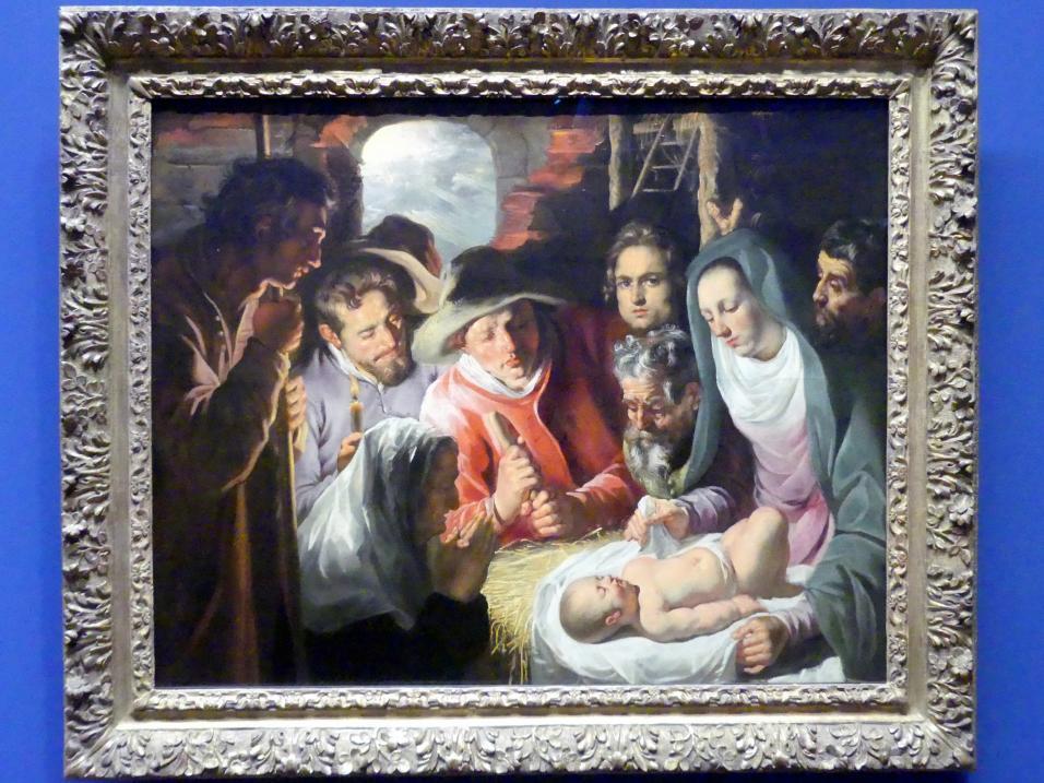 Jacob Jordaens: Die Anbetung der Hirten, Um 1615