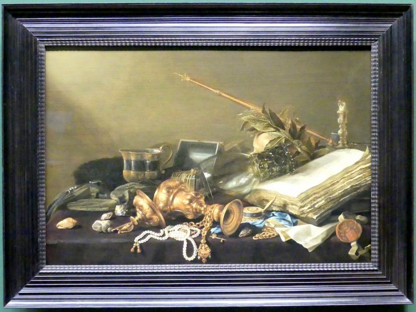 Pieter Claesz: Vanitas-Stillleben, um 1630