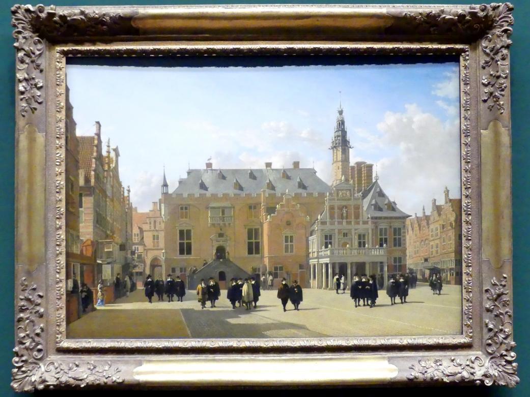 Gerrit Adriaenszoon Berckheyde: Der Marktplatz in Haarlem, 1661