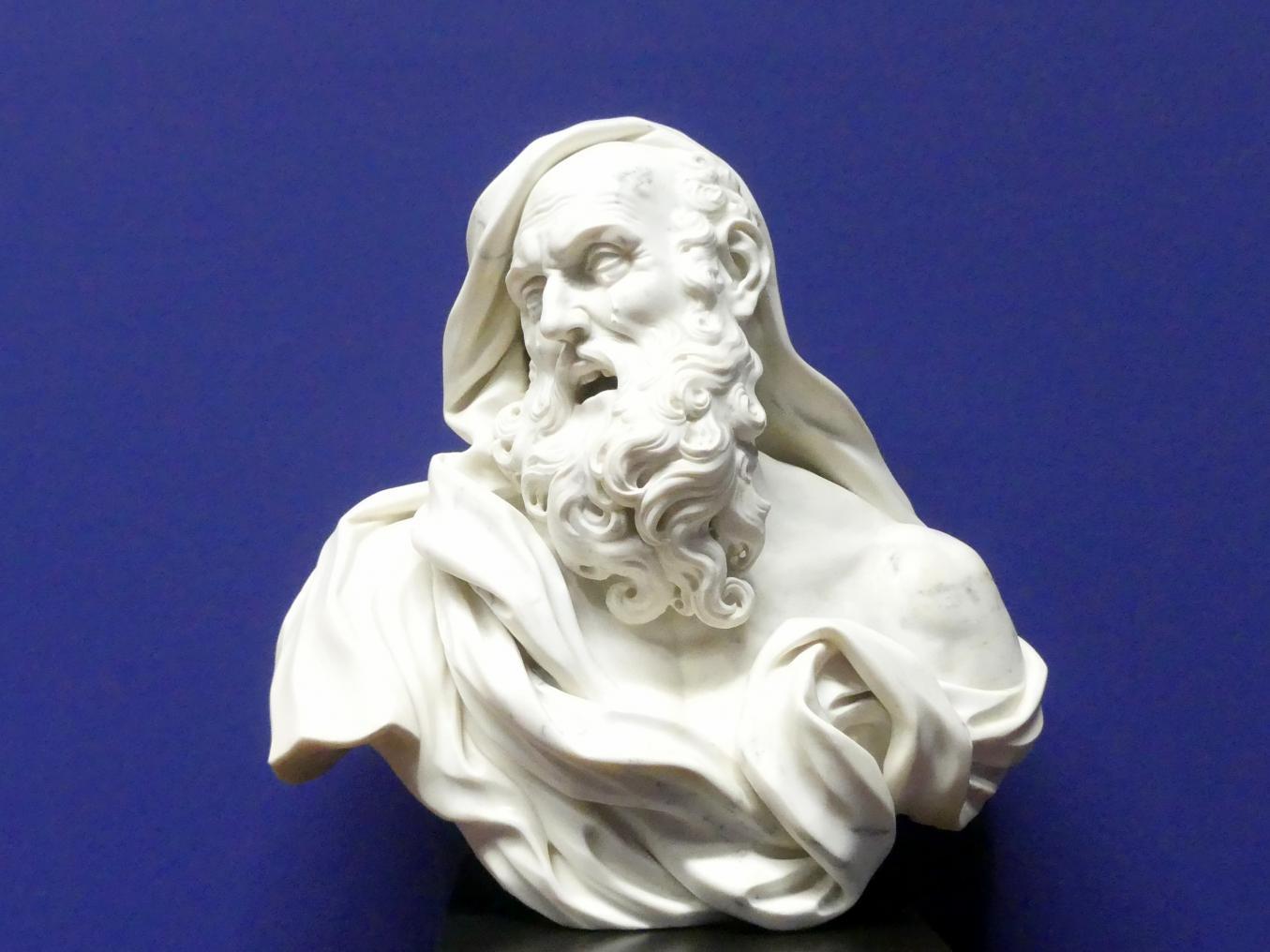 Giovanni Toschini: Büste des Heraklit, 1. Drittel 18. Jhd.