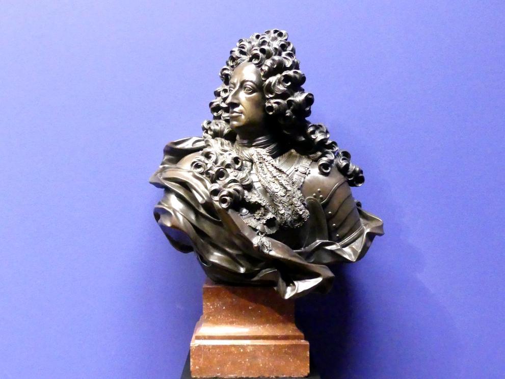 Guillielmus de Grof: Büste des Maximilian II. Emanuel, Kurfürst von Bayern, nach 1700