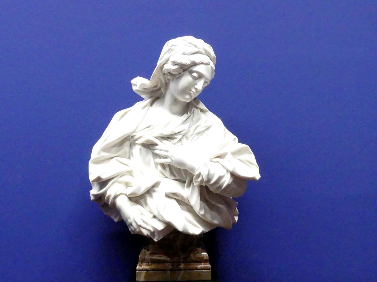 Domenico Guidi: Büste der Maria Annunciata, um 1670