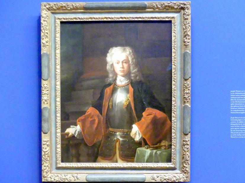 Francesco Solimena: Fürst Joseph Wenzel I. von Liechtenstein, 1725