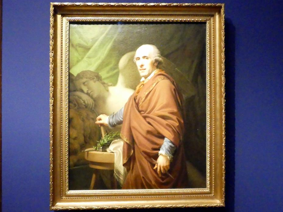 Johann Baptist Lampi der Ältere: Antonio Canova, 1806