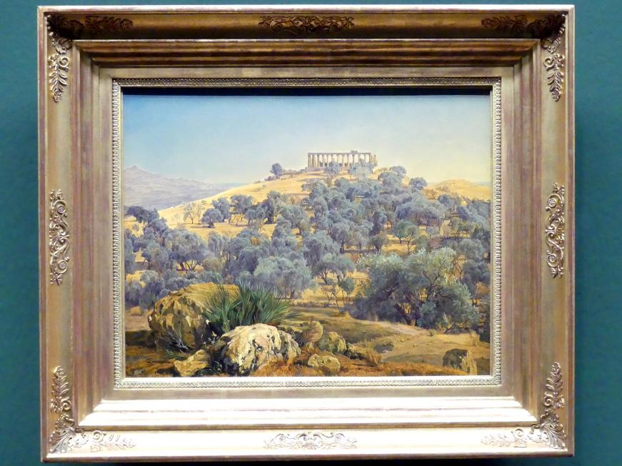 Ferdinand Georg Waldmüller: Die Ruinen des Juno Lacinia Tempels, 1853