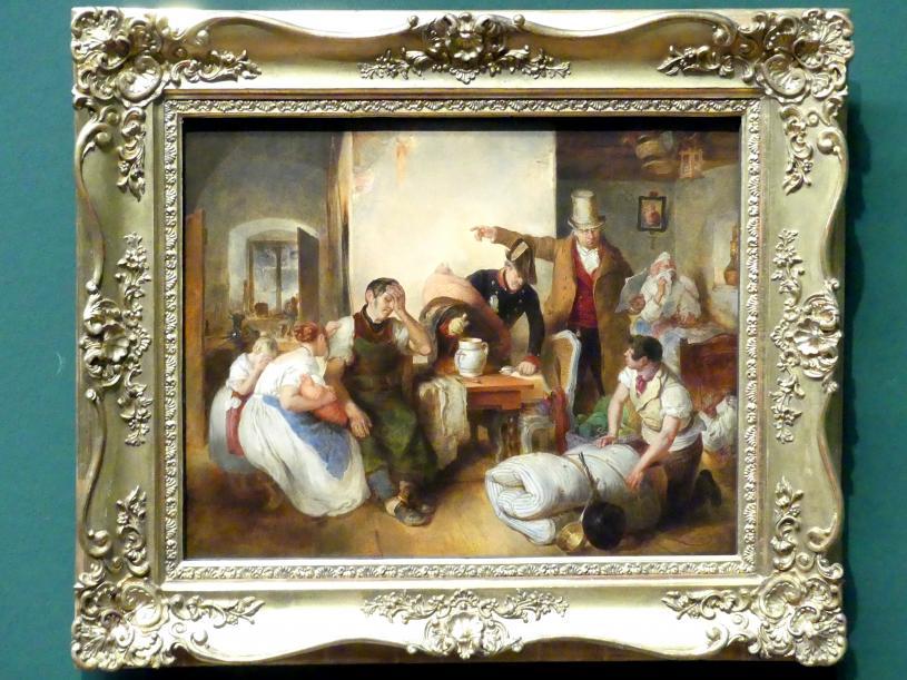 Peter Fendi: Die Pfändung, Um 1840