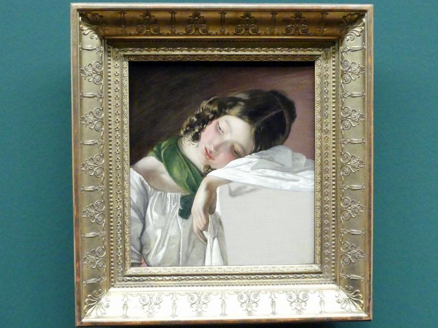 Friedrich von Amerling: Junges Mädchen, 1834