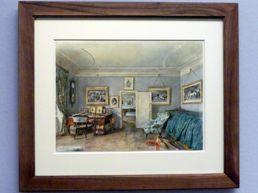 Rudolf von Alt: Die Wohnung des Prinzen Karl Franz Anton von Liechtenstein, 1865