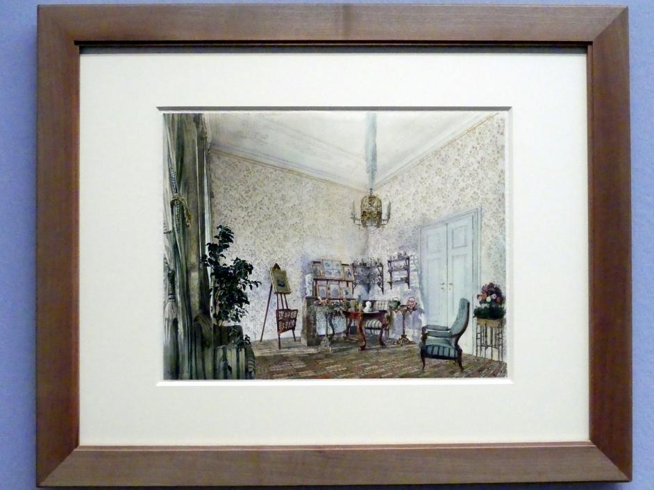 Rudolf von Alt: Salon im Palais Rasumofsky, 1841