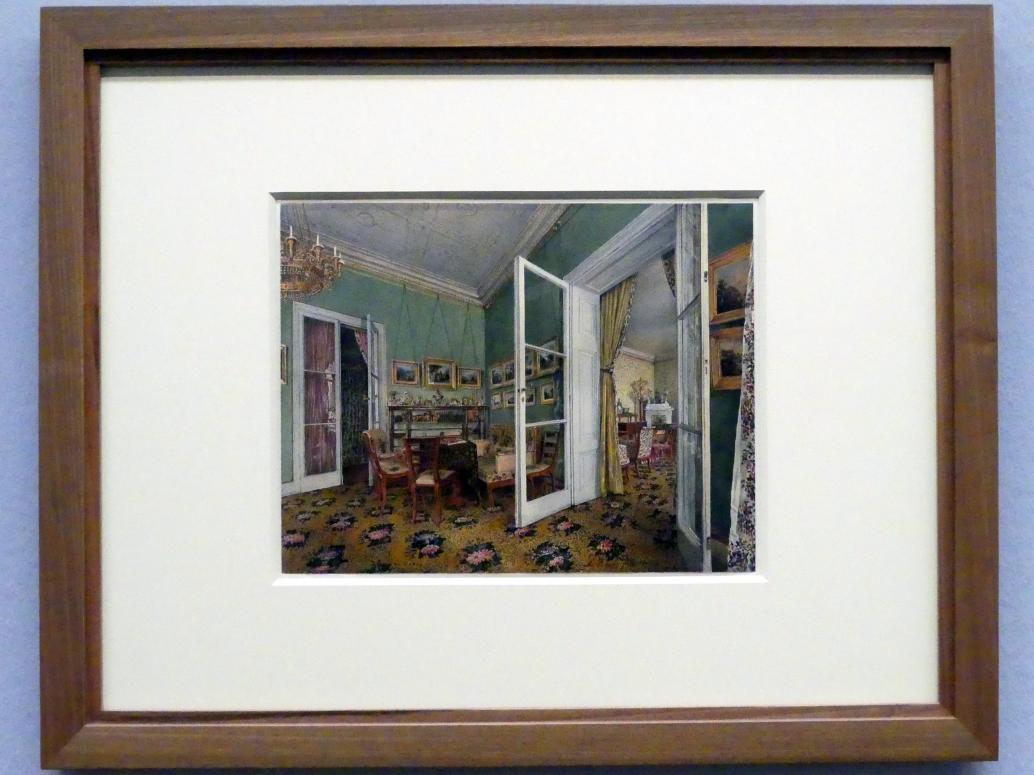Rudolf von Alt: Salon im Palais Rasumofsky, 1836