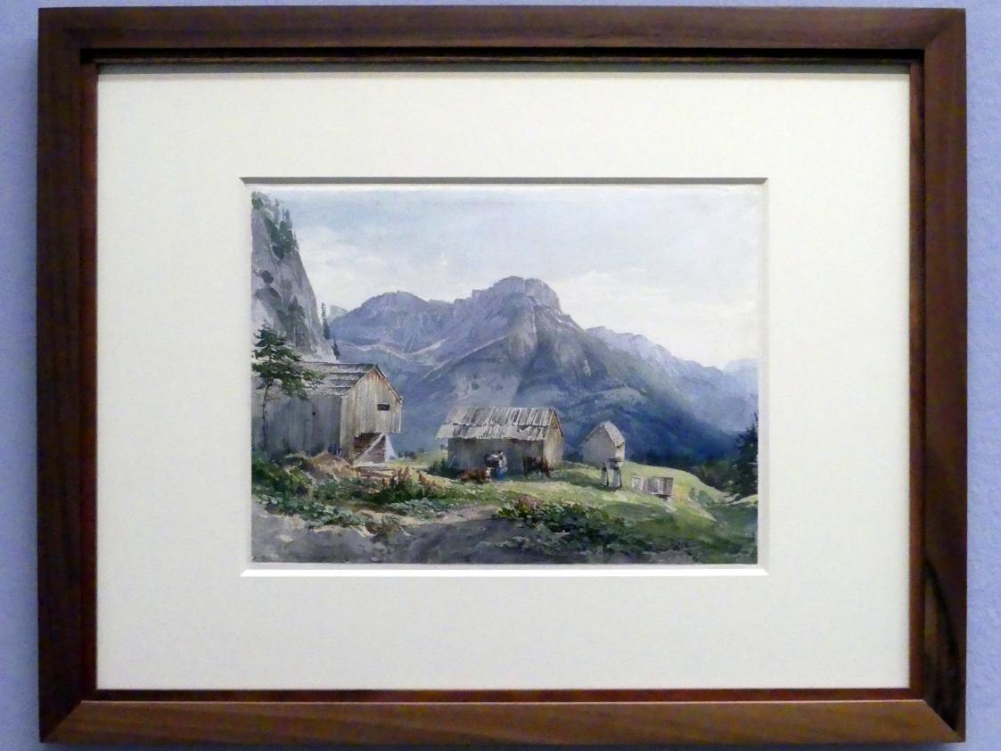 Joseph Höger: Blick gegen das Tote Gebirge, Um 1836