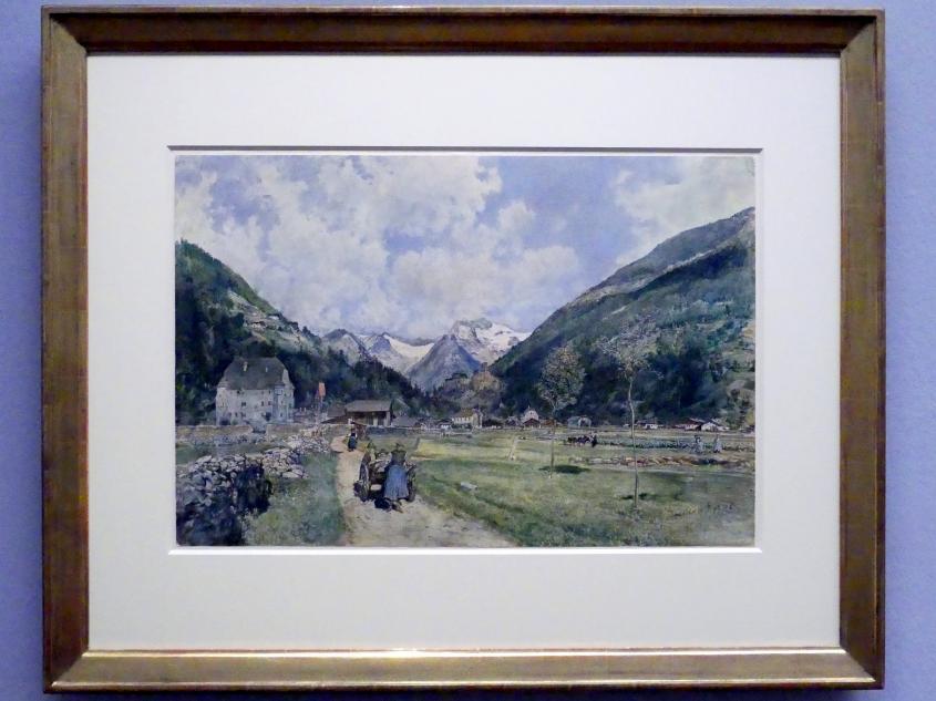 Rudolf von Alt: Blick auf Taufers, 1875