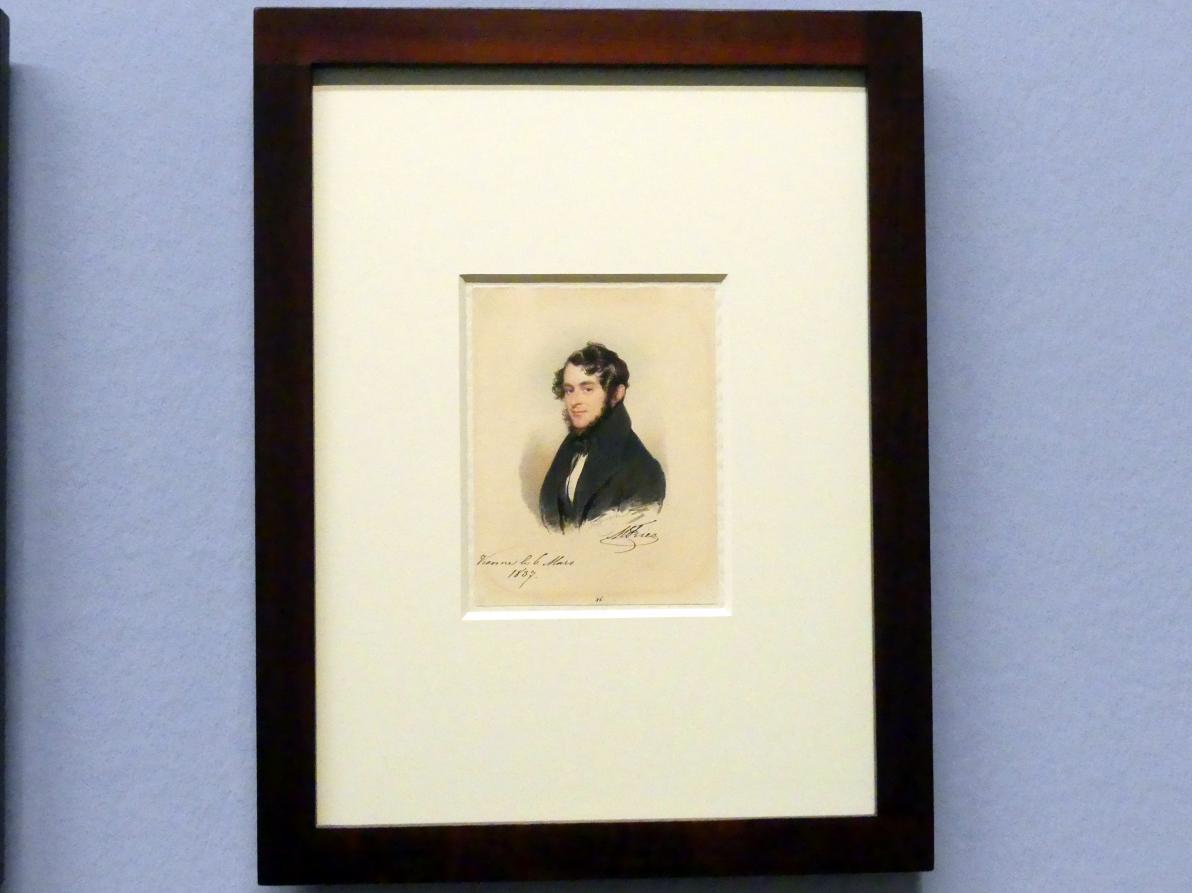 Moritz Michael Daffinger: Graf Moritz Fries, 1837