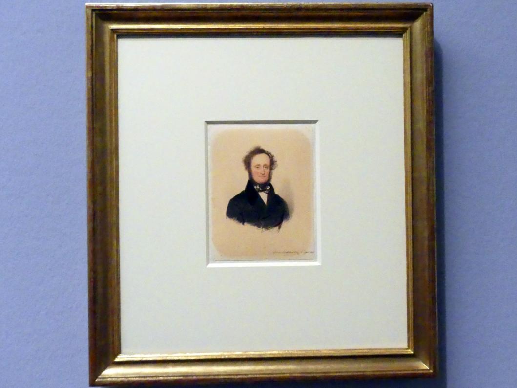 Moritz Michael Daffinger: Fürst Alois II. von Liechtenstein, 1837