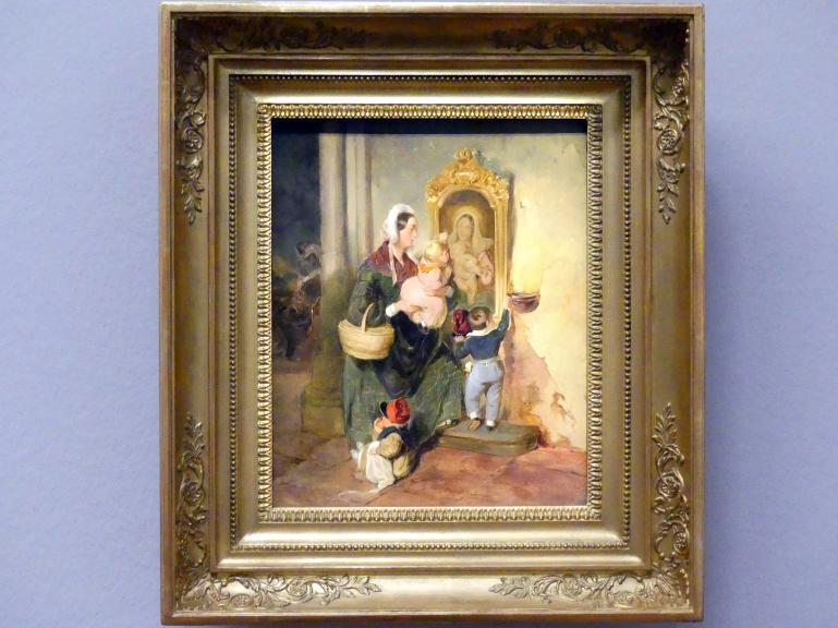 Peter Fendi: Die kindliche Andacht, um 1842