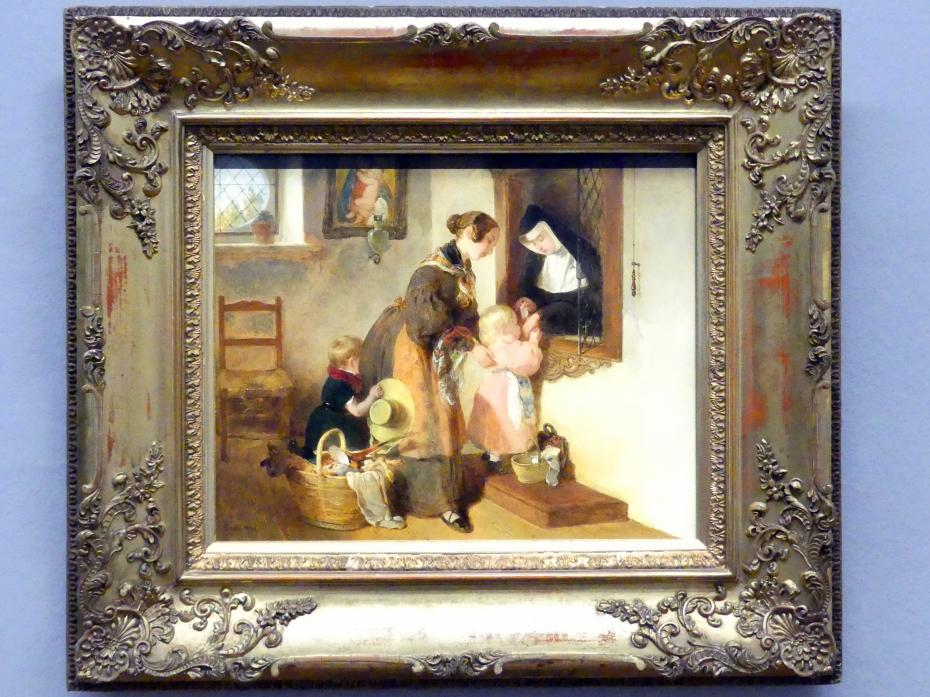 Peter Fendi: Der Besuch bei der Nonne, 1838