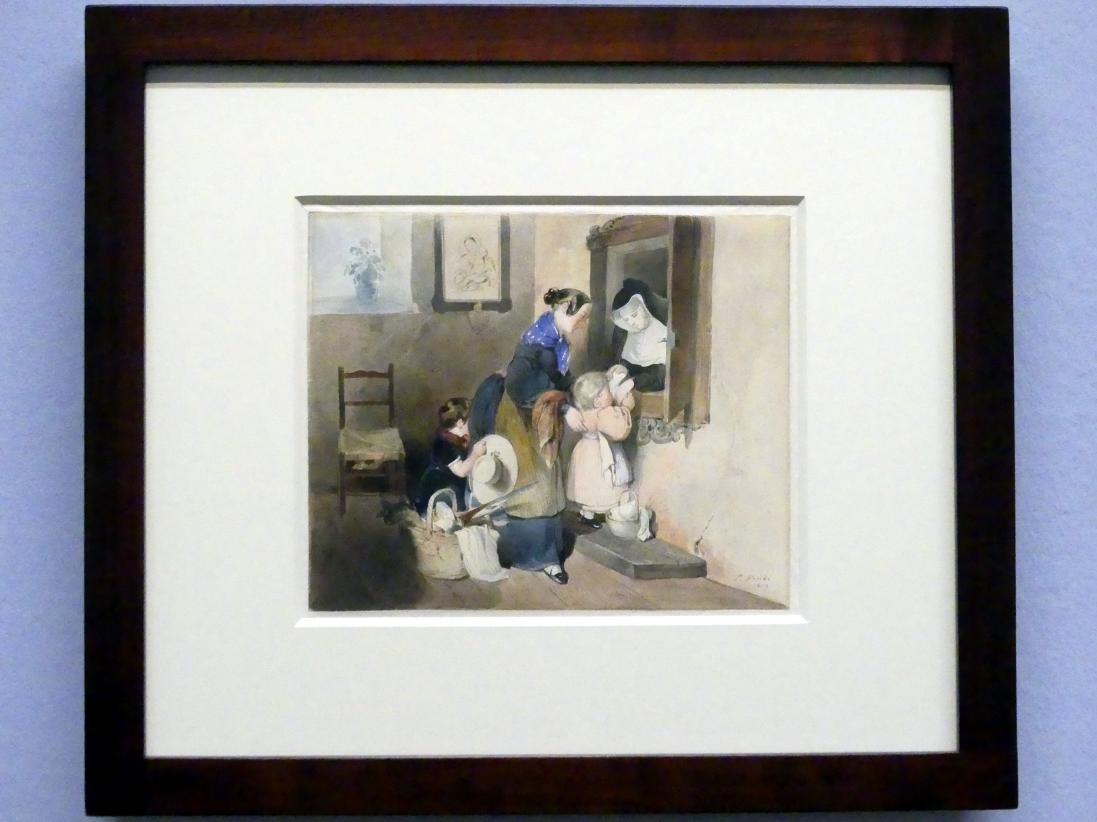 Peter Fendi: Der Besuch bei der Nonne, 1839