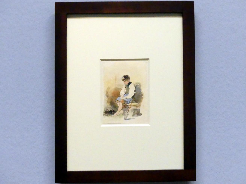 Peter Fendi: Der schlafende Gärtnerjunge, um 1839