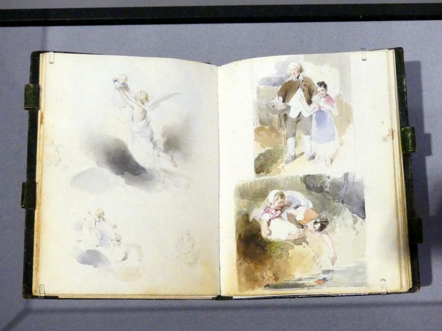 Peter Fendi: Skizzenbuch, 1831