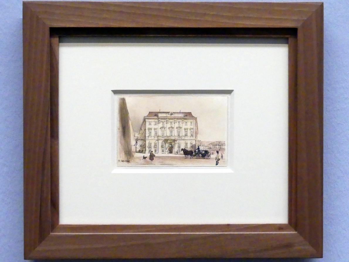 Rudolf von Alt: Die ehemalige Hofkanzlei am Ballhausplatz, 1845