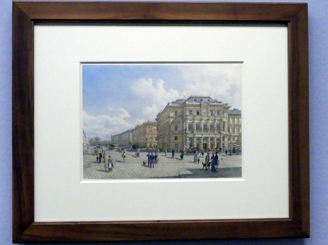 Franz Alt: Das Palais des Erzherzog Ludwig Viktor am Schwarzenbergplatz, 1879